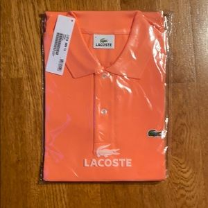 Lacoste Men's Size long sleeve Polo